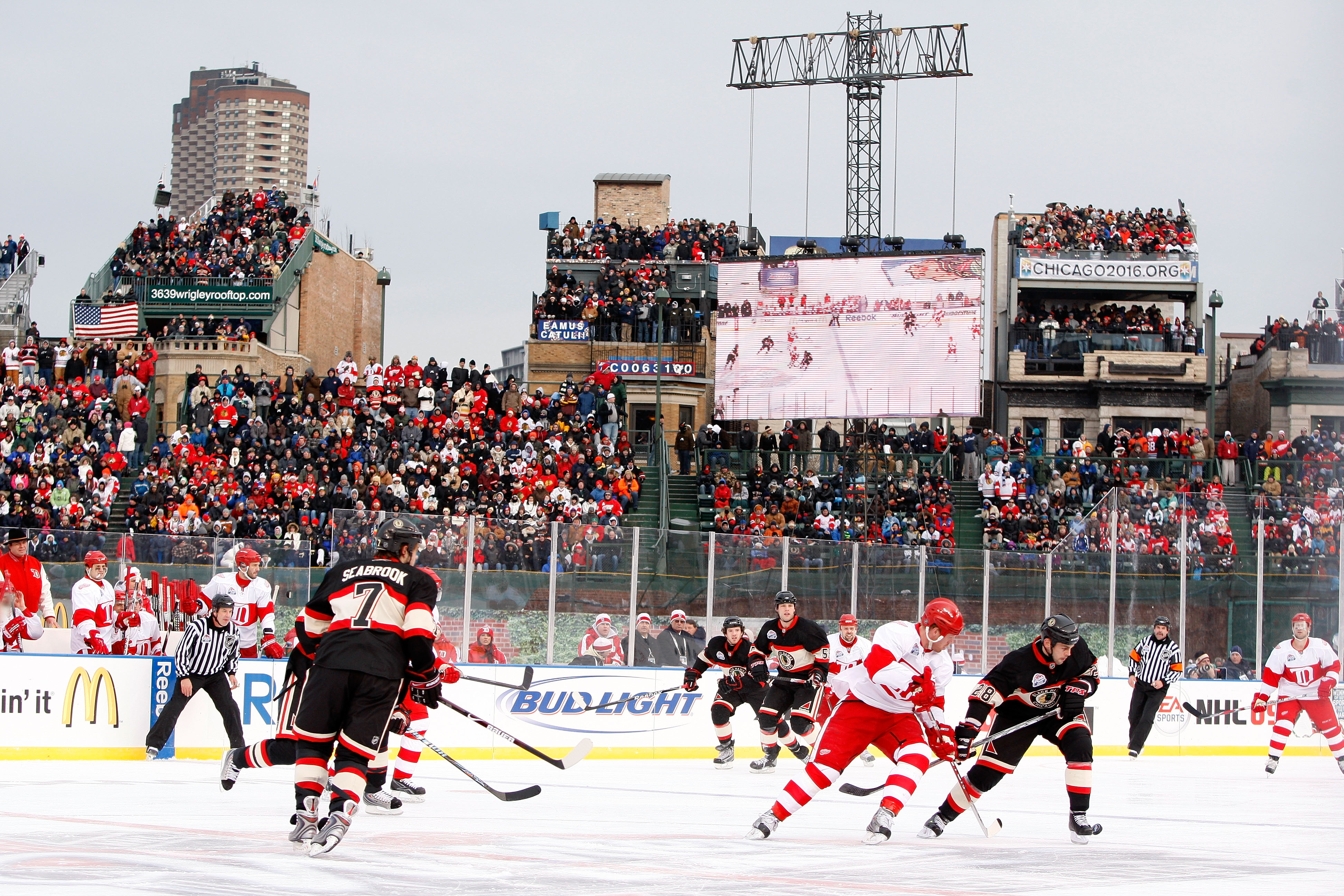 A Brief History Of Red Wings Outdoor Games