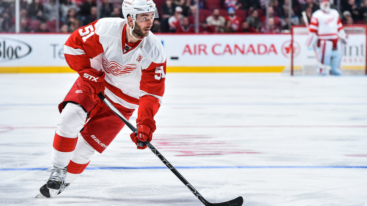 Red Wings' Frans Nielsen named to NHL All-Star Game roster