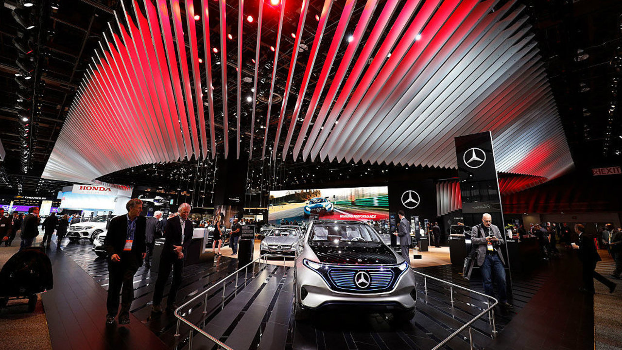13 cars guaranteed to impress you from the 2017 detroit for Ganley mercedes benz