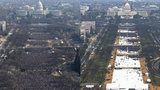Trump draws far smaller inaugural crowd than Obama