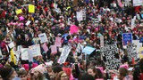 Women's March: Formal march called off due to large crowds blocking route