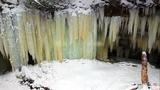 VIDEO: Go inside Eben Ice Caves in Michigan's Upper Peninsula