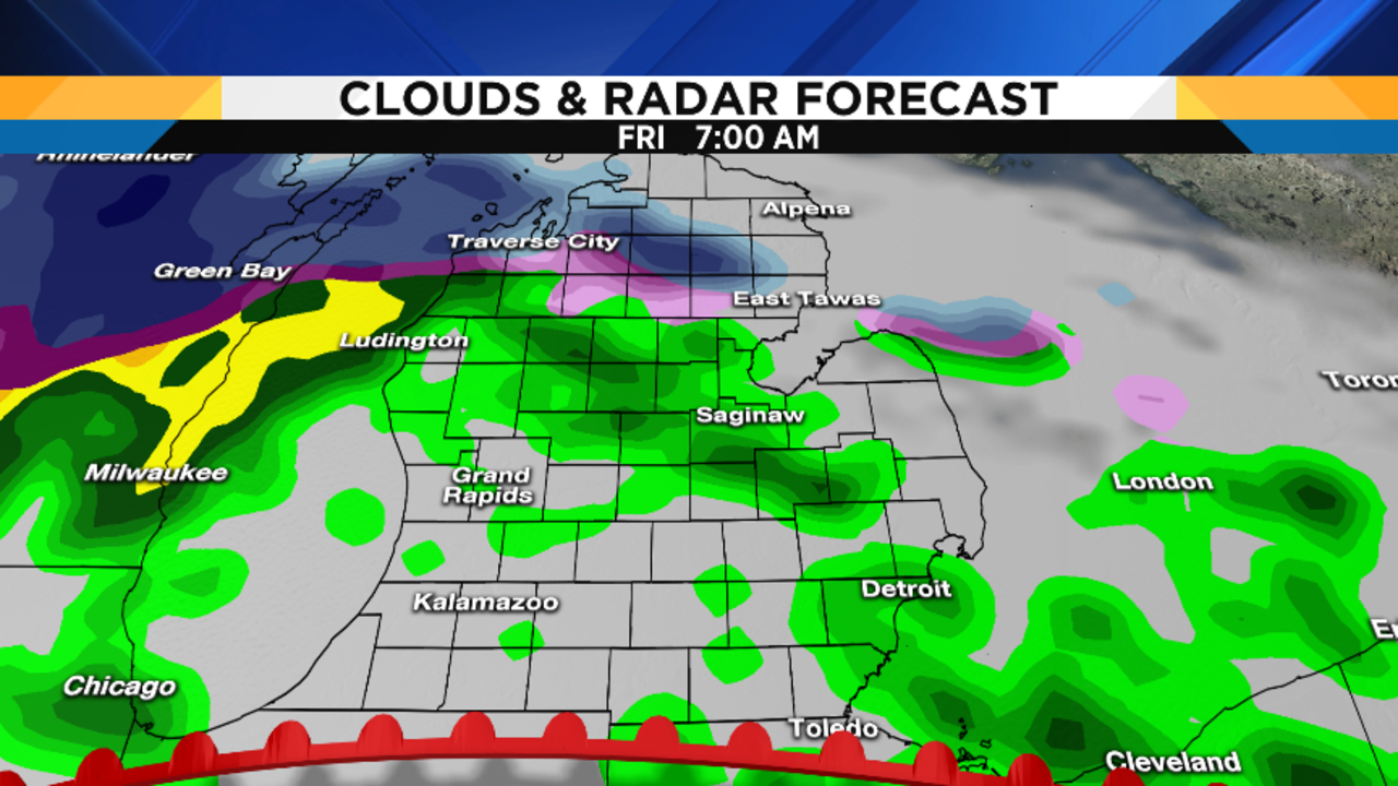 Metro Detroit Weather Forecast: Updating Friday's Severe
