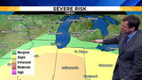 Metro Detroit weather: Risk for severe storms Tuesday, followed by snow