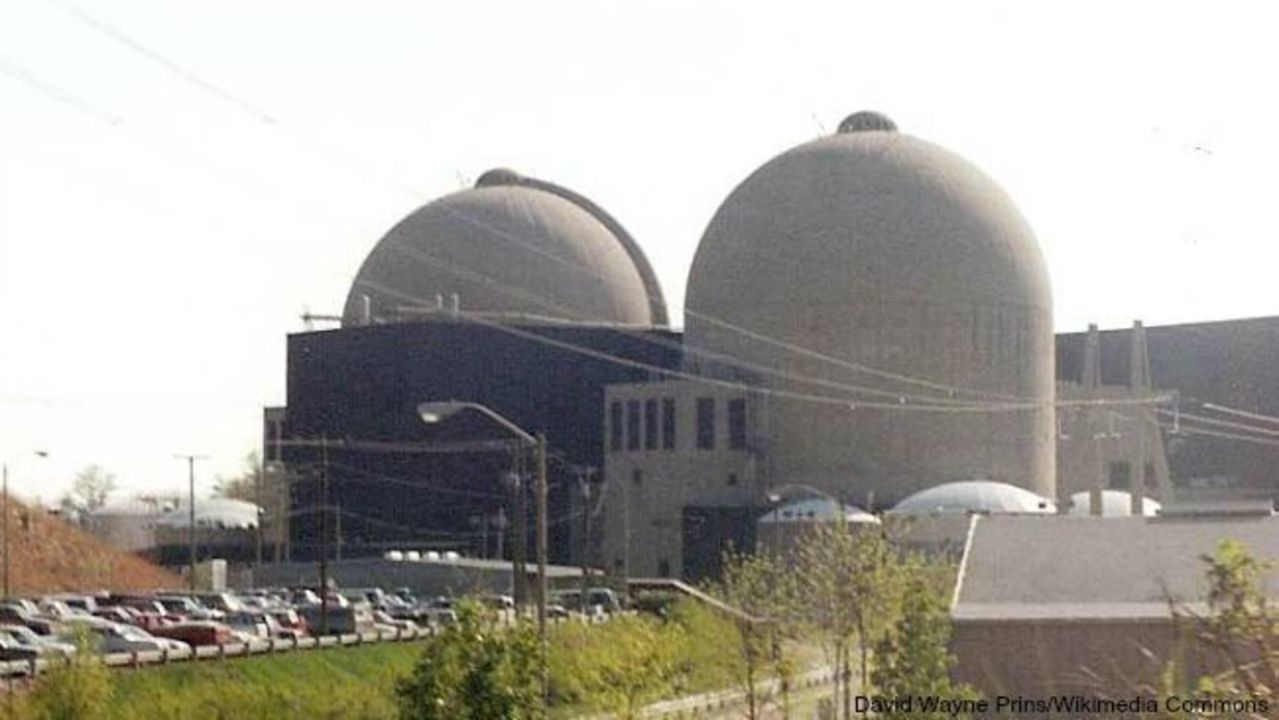 Sulfuric acid found leaking from tank outside nuclear plant