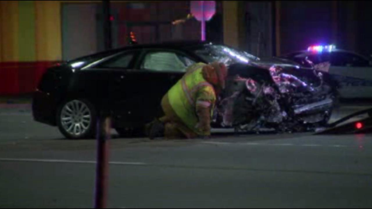 1 Killed In Crash Involving 4 Vehicles On Gratiot Avenue