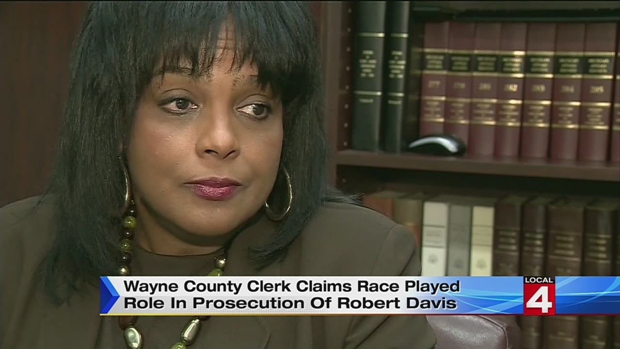 Wayne County Clerk Cathy Garrett claims race played role in
