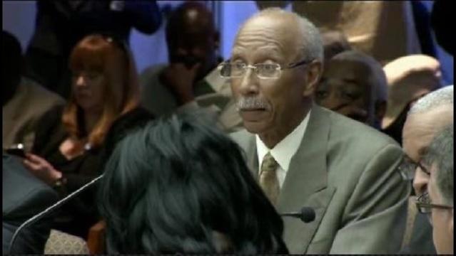 Detroit Mayor Dave Bing at City Council