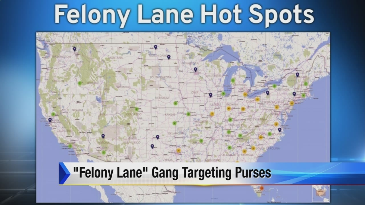 Felony Lane Gang Hits The Metro Detroit Area