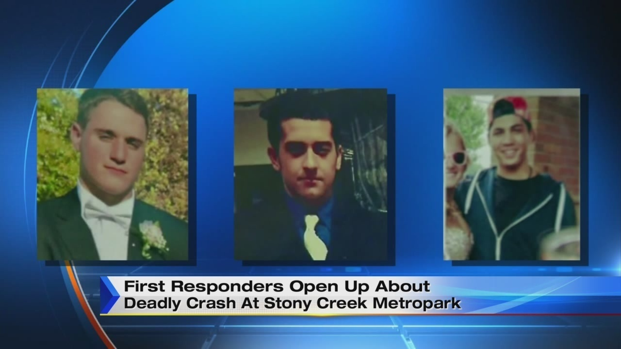 First responders open up about deadly crash at Stony Creek