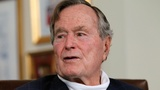 Former President George H.W. Bush admitted to hospital with blood infection