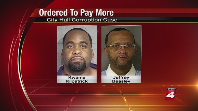 Kwame Kilpatrick, friend ordered to pay more