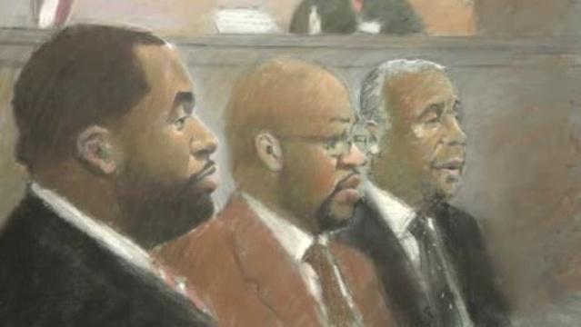 Kwame Kilpatrick Bobby Ferguson Bernard Kilpatrick in court