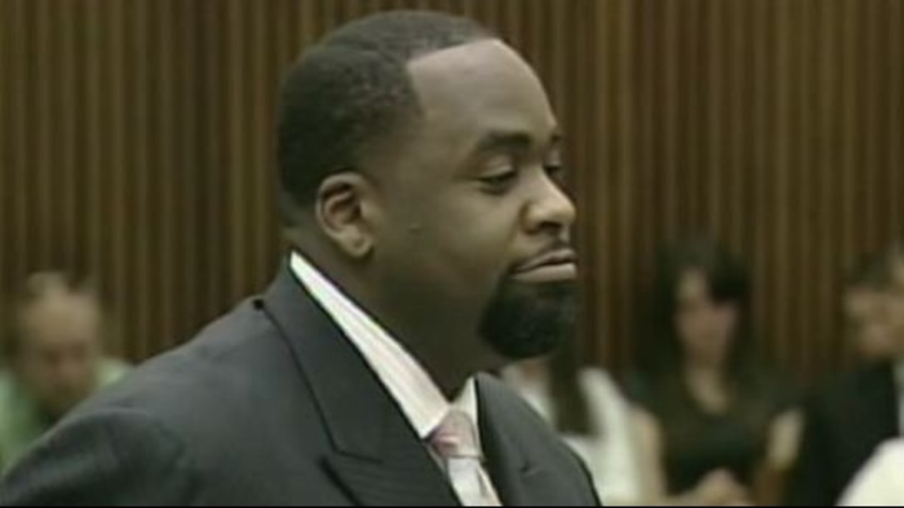 Former Detroit Mayor Kwame Kilpatrick says he shouldn't owe...