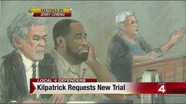 Kwame Kilpatrick requests new trial