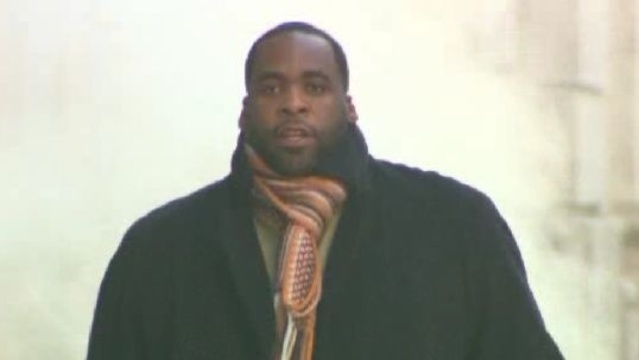 Kwame Kilpatrick leaving court on Dec 5th