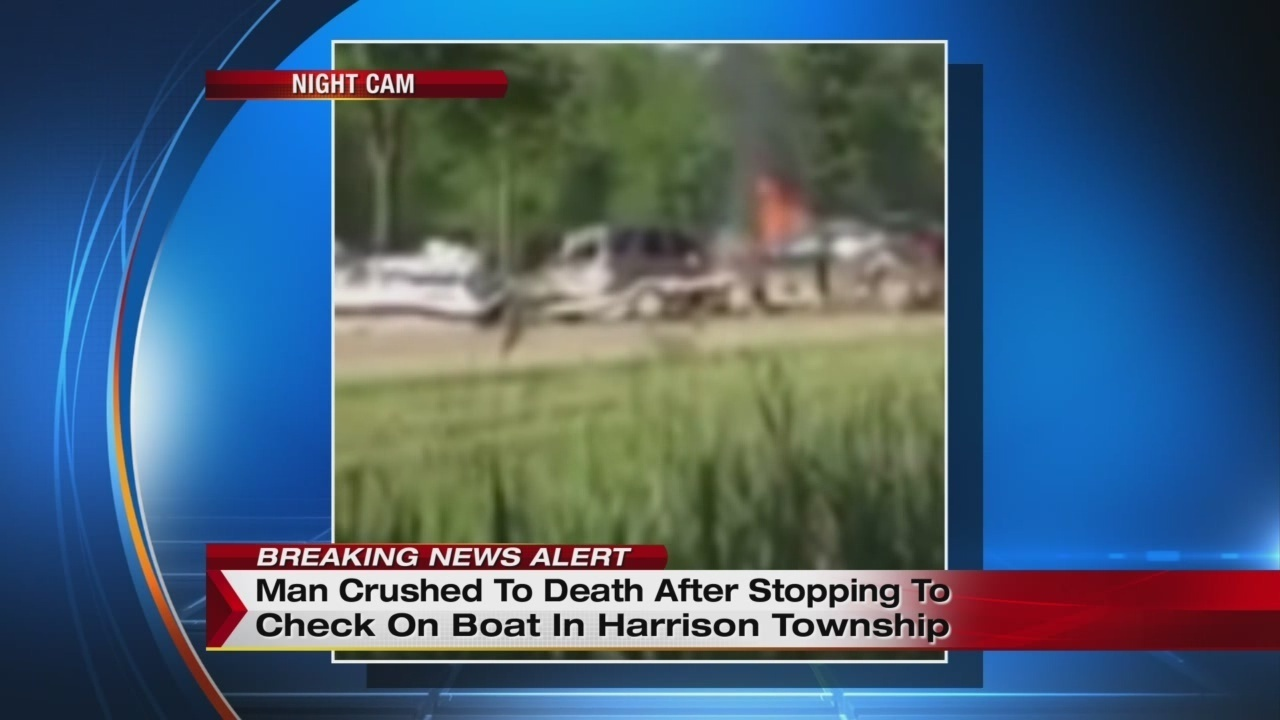 Clinton township man dies when boat falls off trailer onto him for Parkway motors clinton township