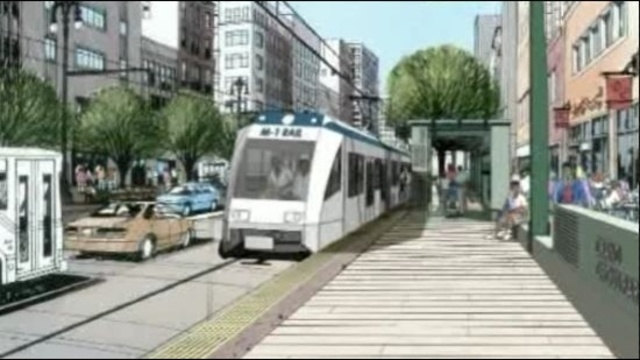 Metro Detroit light rail project
