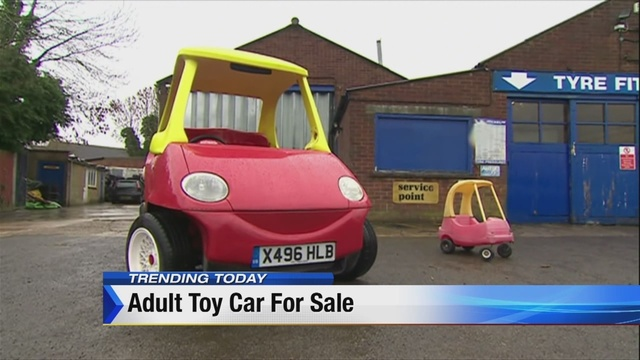 Morning Show Moment A Toy Car For Adults