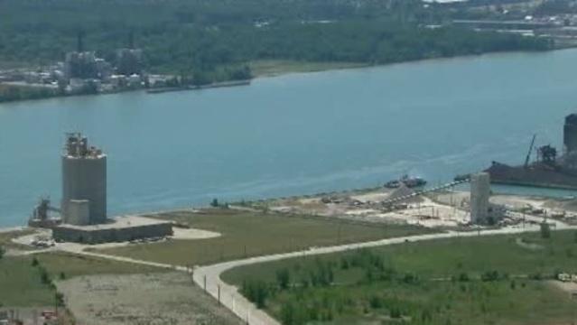 New Detroit Canada bridge location_15122592