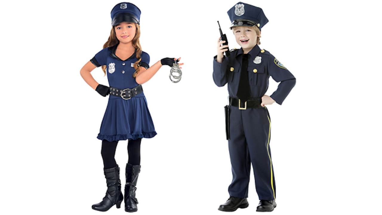mother criticizes party city for gender biased costumes