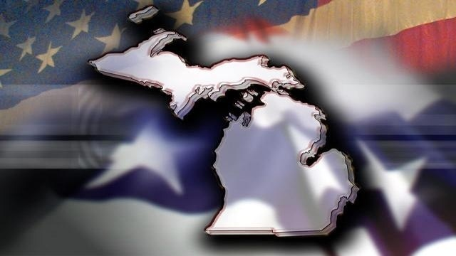 State of Michigan politics background