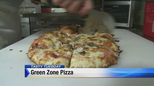 Tasty Tuesday: Green Zone Pizza