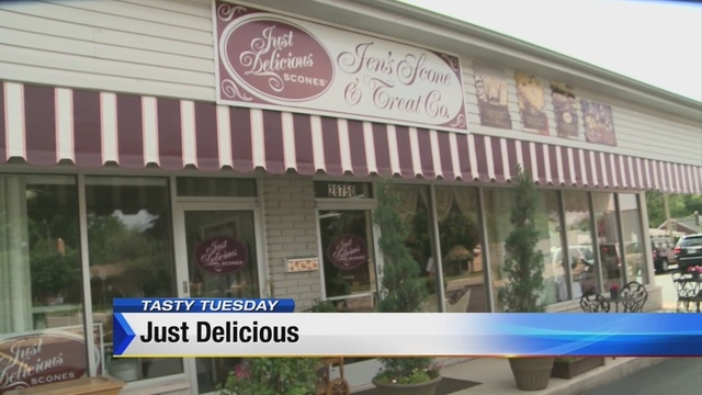 Tasty Tuesday: Just Delicious Scones and Royal Treat Tea Room