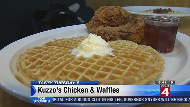 Tasty Tuesday: Kuzzo's Chicken & Waffles