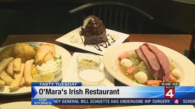 Tasty Tuesday: O'Mara's Irish restaurant