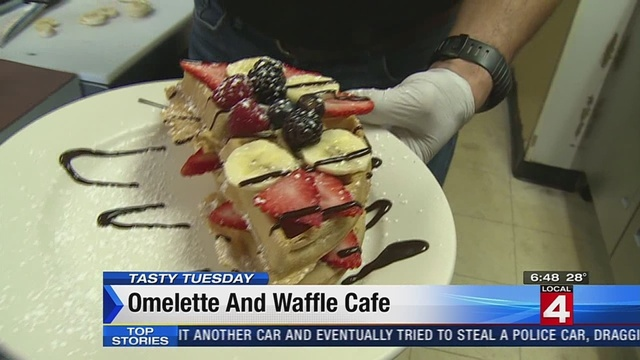 Tasty Tuesday: Omelette & Waffle Cafe