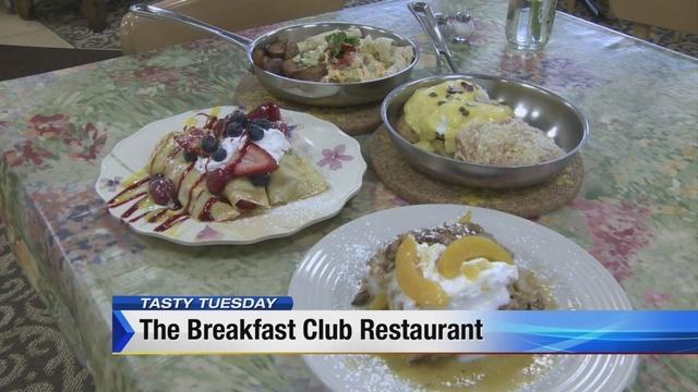 Tasty Tuesday: The Breakfast Club restaurant