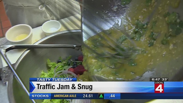 Tasty Tuesday: Traffic Jam & Snug
