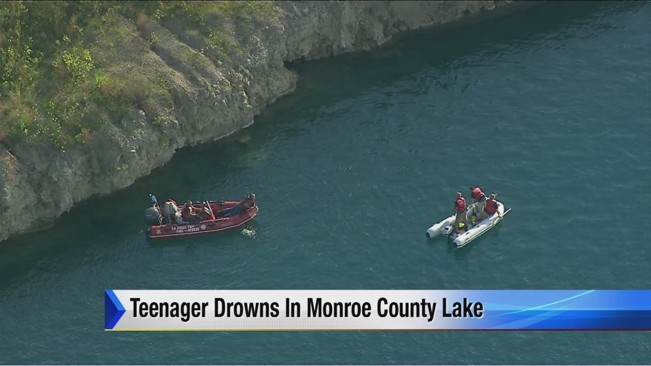 Detroit teen's body pulled from lake in Monroe Township