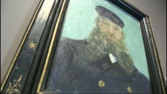 Van Gogh self portrait at DIA_20405746