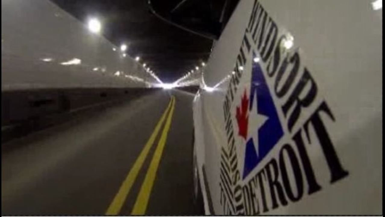 Detroit-Windsor Tunnel to close for 10 days in October for final phase of renovations