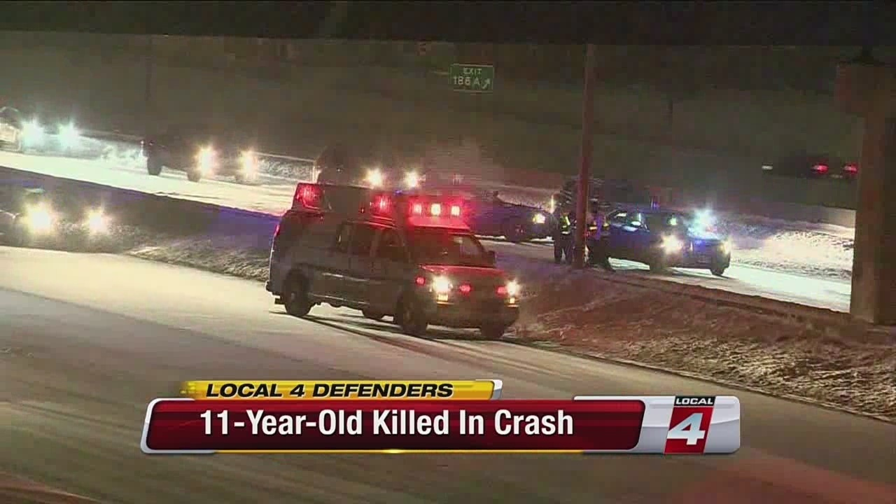 11-year old killed in I-96 accident