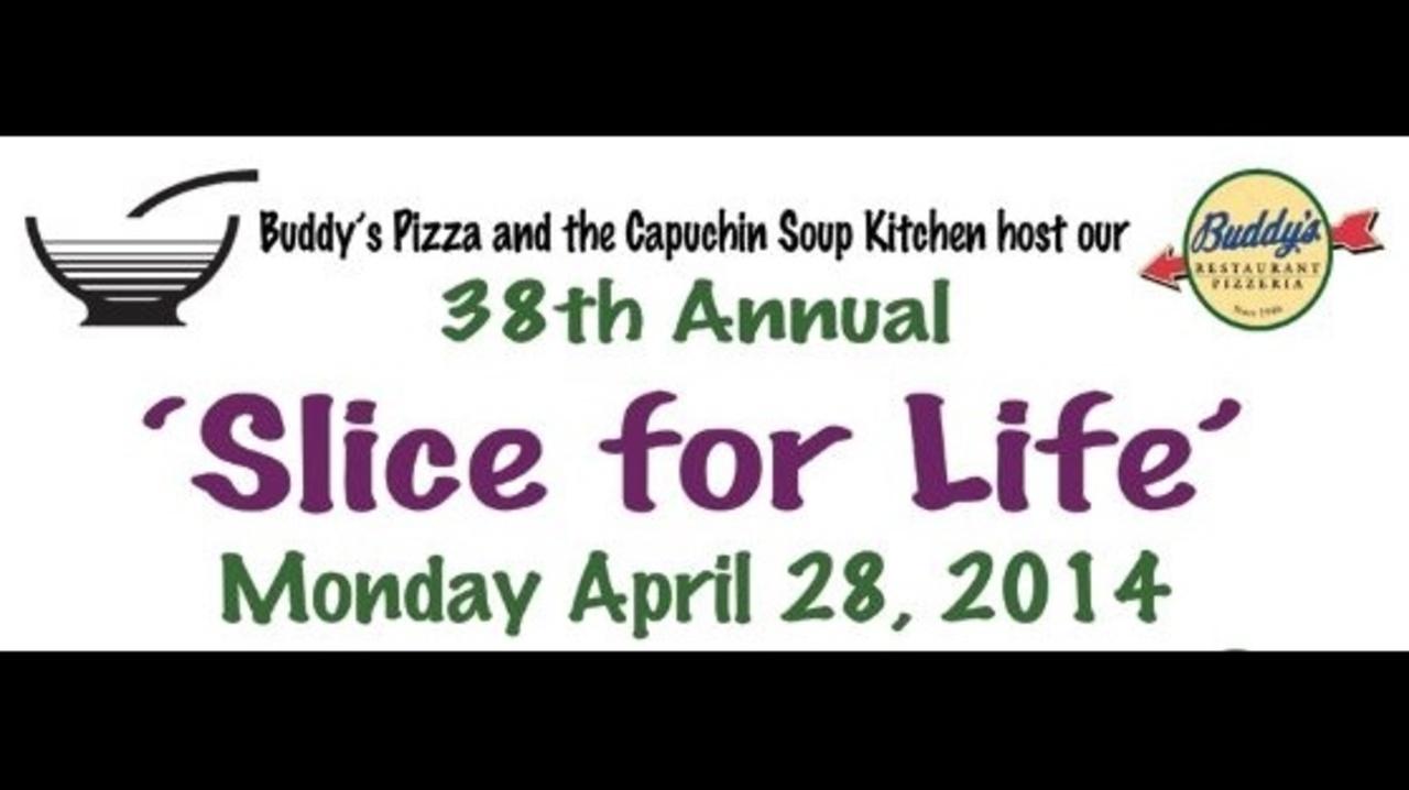 Buddy\'s Pizza fundraiser will benefit Capuchin Soup Kitchen