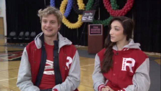 Detroit's ice dancers still greeted with cheers months after gold medal win