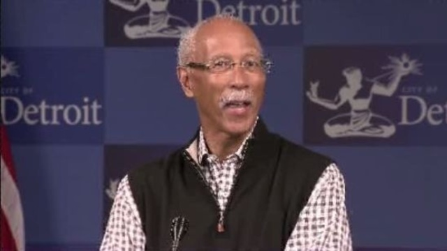 Detroit Mayor Dave Bing_14753646