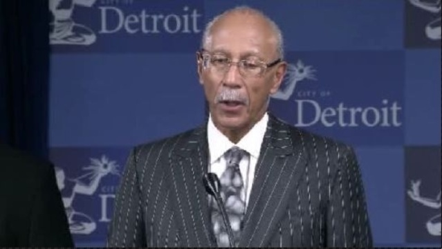 Detroit Mayor Dave Bing_18057002