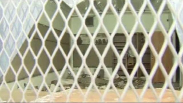 Detroit police annex where rape kits were found