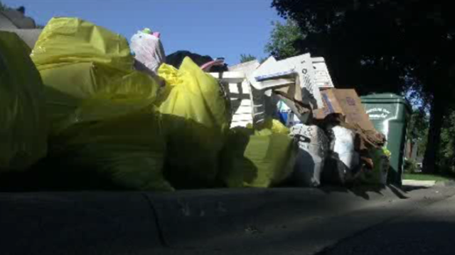 Flood items on curb Huntington Woods 3