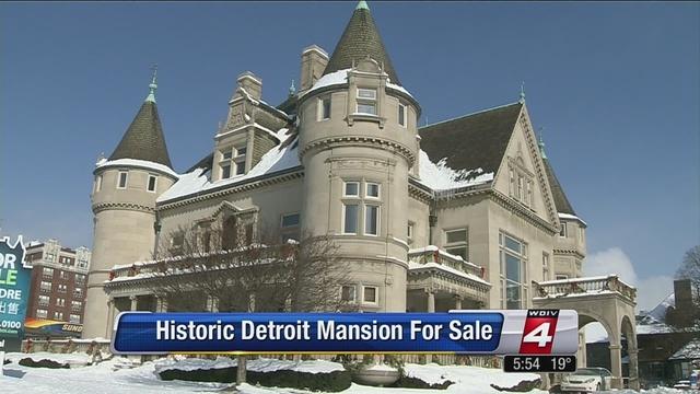 Historic Detroit Mansion Up For Sale