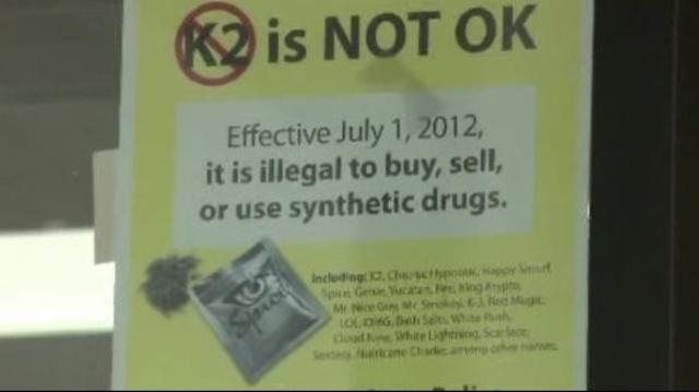 K2 not OK sign Metro Detroit
