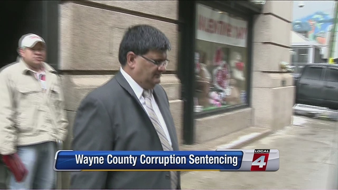 Ex-Wayne County IT boss gets prison time for accepting bribes