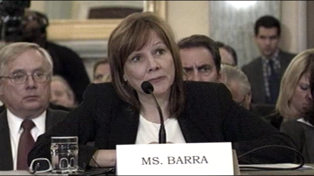 Mary Barra testimony day 2