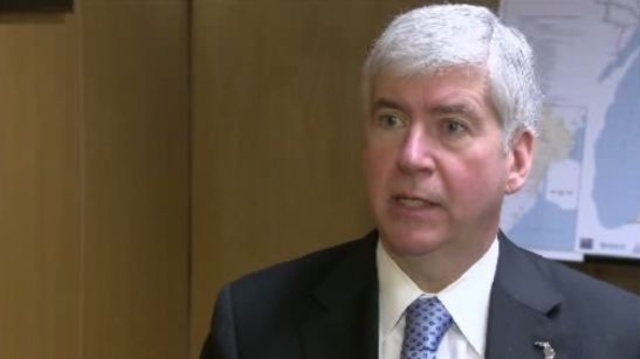 Michigan Governor Rick Snyder on right-to-work_17727150