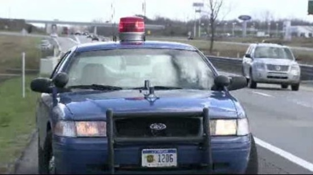 Michigan State Police patrol Interstate 96