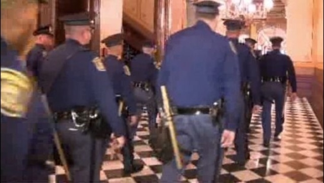 Michigan State Police troopers at Capitol 1